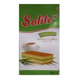 Бисквитное пирожное Solite 'Зеленый чай'
