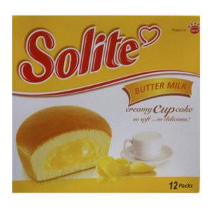 Бисквитные капкейки Solite 'Масло и молоко'