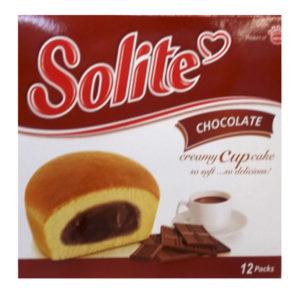 Бисквитные капкейки Solite 'Шоколад'