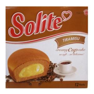 Бисквитные капкейки Solite 'Тирамису'