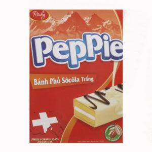 Бисквитные пирожные Peppie 'Белый шоколад'