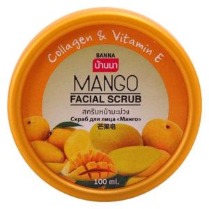 Скраб для лица с Манго Banna Mango Facial Scrub