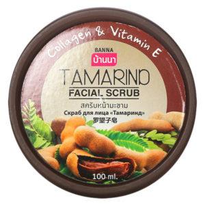 Скраб для лица с Тамариндом Banna Tamarind Facial Scrub