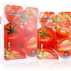 Тканевая маска для лица помидор